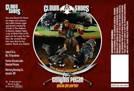 Clown Shoes Genghis Pecan Pecan Pie Porter | BeerPulse