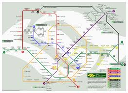 North Shore Chicago Map by Singapore Mrt System Map U2013 Looking Into The Future Information