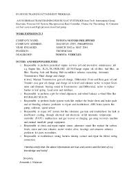 Maintenance Technician Resume Sample by Cv As Maintenance Technician Armando Malasan