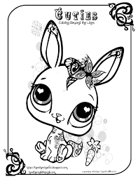 littlest pet shop cuties coloring pages getcoloringpages com