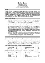 Resume Headline Examples by Good Samples Of Resumes Resume Profile Examples Good Resume