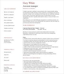 Gallery of  Accounting Manager Resume Examples