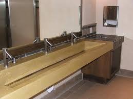 concrete trough sink with angled drain saga pinterest trough