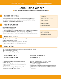 Professional Profile On Resume Resume Picture Size Philippines