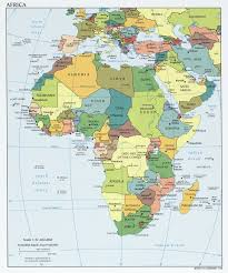 Map Of Western Caribbean by Various Maps Showing How Big Africa Is
