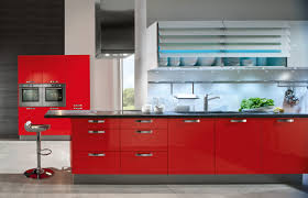 kitchen red color can revolutionize small design ideas then haammss