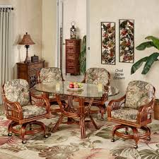 leikela rain forest tropical dining furniture set