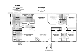 1 Bedroom Modular Homes Floor Plans by Clayton Single Wide Mobile Homes Floor Plans Bedroom Inspired