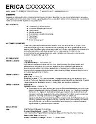 Sample Resume  Retail Sales Associate Entry Level Management