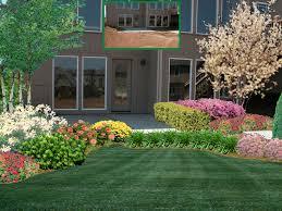 exterior conservative garden landscape design ideas with greenery