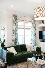 Ideas For Living Room Furniture by Best 25 Green Sofa Ideas On Pinterest Green Living Room Sofas