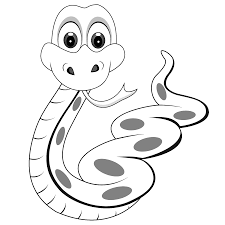snake coloring pages 1 free printable snake coloring pages
