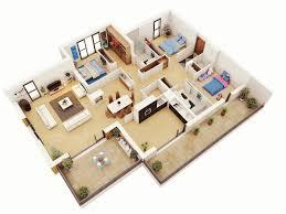 3d Floor Plans by 25 More 3 Bedroom 3d Floor Plans 3 Bedroom Floor Plans Swawou