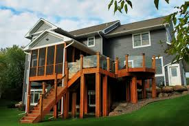 Screen Porch Roof by Residential Decks And Porches Jg Hause Construction