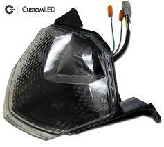 2009 2012 ninja zx 6r blaster x integrated led tail light custom led