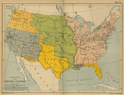 Unite States Map by Of The Expansion Of The United States 1783 1907
