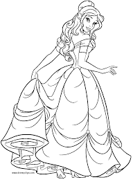 beauty and the beast coloring pages coloring pages pinterest