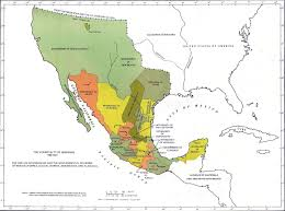 Oldest Map Of North America by Map Of Mexico 1786 1821
