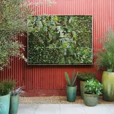 Outdoor Wall Planters by Living Wall Planter Landscape Contemporary With Green Wall Modern