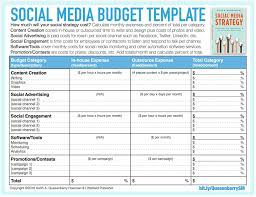 Plan Social Media by Template Media Marketing Plan Template Resume Writing Multiple