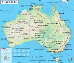 Blank Map Of Oceania by Australia Map Map Of Australia