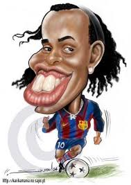 Caricaturas de futbolistas!