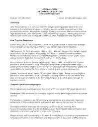 Sample Lawyer Resumes by Resume Sample General Counsel Templates