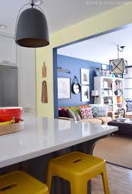 Kitchen Living Room Open Floor Plan Paint Colors Kitchen Renovation Paint Wallpaper Jenna Burger