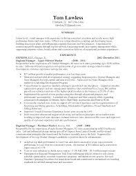 Sales Manager Resume Sample  sample resume for sales manager sales     happytom co