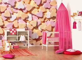 cool wallpaper for bedrooms descargas mundiales com bedroom romantic girls design with white crib fuchsia curtain and colourful heart wallpaper also drawer chest