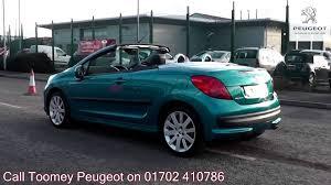sale peugeot 2007 peugeot 207 cc sport 1 6l blue metallic ej07lxl for sale at