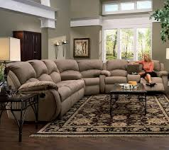 leather sectional sofa recliner living room brown leather sectional sofas with recliners and