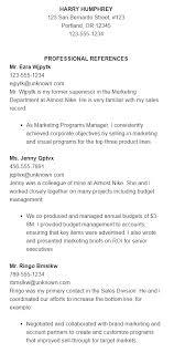 Sample resume heading