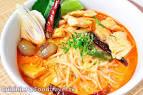 ก๋วยเตี๋ยวต้มยำน้ำข้นปลา Spicy Fish Noodle Soup - FoodTravel.tv ...