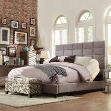 tov furniture delilah navy textured velvet low profile bed hayneedle