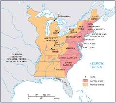 United States Map Delaware by American Revolution And Critical Period Through Maps