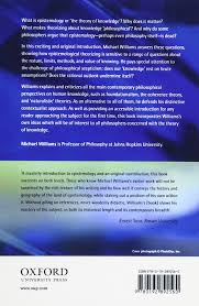 problems of knowledge a critical introduction to epistemology