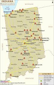 Map Of Cities In Usa by Reference Map Of Indiana Usa Nations Online Project List Of