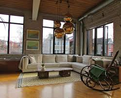 ikea kivik sectional living room industrial with wood floor