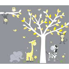 Baby Room Wall Murals by Interior Contempo Baby Nursery Room Wall Decals Decoration Using