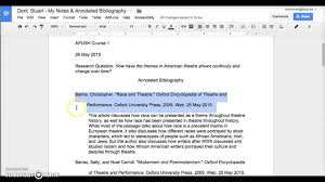 Annotated bibliography introduction apa Perfect Resume Example Resume And Cover Letter