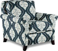 Lazy Boy Furniture Outlet Transitional Flared Arm Chair And Ottoman Set By La Z Boy Wolf
