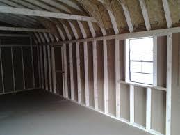 14x28 gambrel barn with extra door u0026 vents pine creek structures