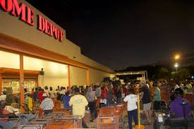 home depot black friday shopper generator trouble adds new meaning to black friday on st thomas
