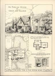 Massive House Plans by 1920s English Cottage Small Homes Books Of A Thousand Homes