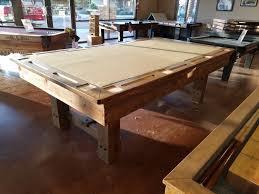 Pool Table In Dining Room by Diamondback Billiards