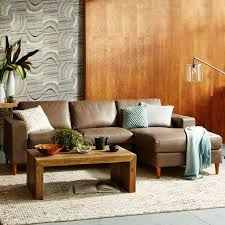Build Your Own Sectional Sofa build your own york leather sectional pieces west elm