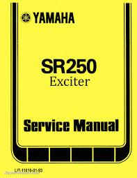 yamaha motorcycle manuals repair manuals online