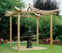 Small Pergola Kits by Forest Ultima Wooden Pergola Kit 3 6 X 3 6m Gardensite Co Uk