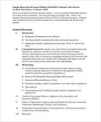 Sample dissertation prospectus   mfacourses    web fc  com Writing dissertation literature review   FC